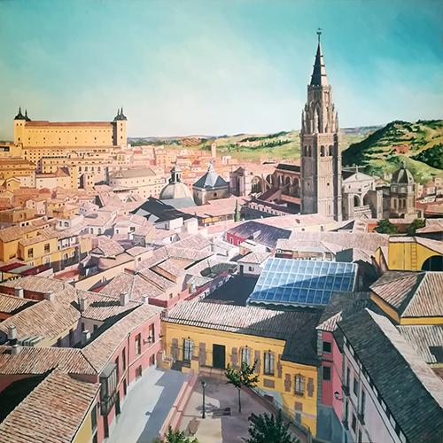 Toledo desde San Ildefonso